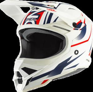 O'NEAL 3SRS Helm RIFF 2.0 V.20 Weiß/Blau