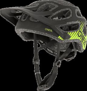 O'NEAL THUNDERBALL Helmet V.20 Black/Neon yellow
