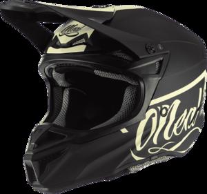 O'NEAL 5SRS Polyacrylite Helm RESEDA V.20 Schwarz/Beige XS