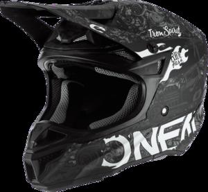 O'NEAL 5SRS Polyacrylite Helmet HR V.20 Black/White