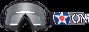 O'NEAL B-10 Brille WARHAWK V.20 Schwarz/Grau