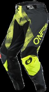 O'NEAL MAYHEM Pants COVERT V.21 Anthracite/Neon yellow