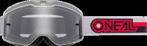 O'NEAL B-20 Brille PROXY V.21 Grau/Rot